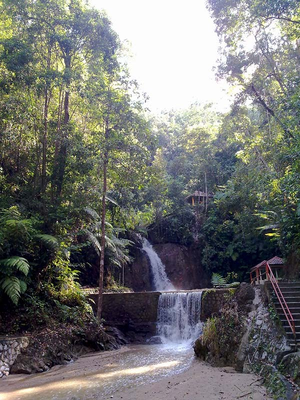 Jeriau water Fall