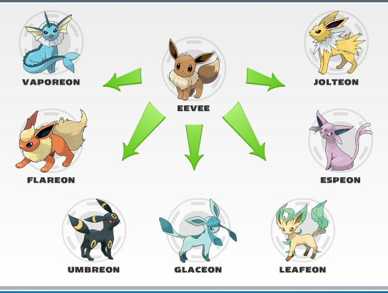 Mikhel Anggelo Evolution Pokemon Eevee