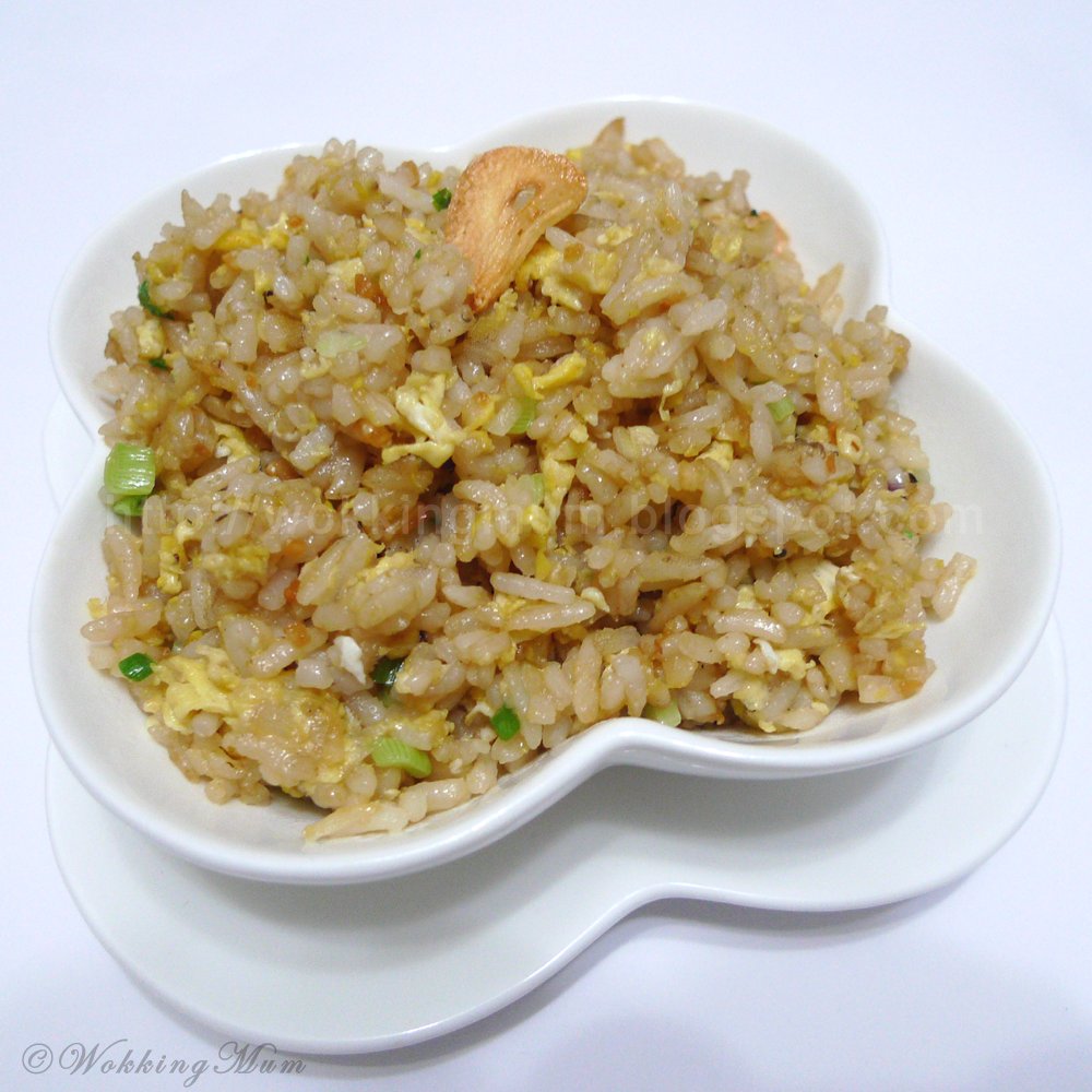 Lets get wokking garlic fried rice singapore food blog on easy garlic fried rice ccuart Gallery