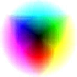 Imagenes para pruebas de impresion a color.