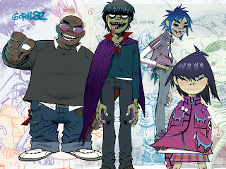 Gorillaz, Spy-Vs-Spy,heart, love, student, bloggers, responsibility, vietnam, american-international-school-saigon, ho chi minh city, black-and-white-flower, student-bloggers-vietnam