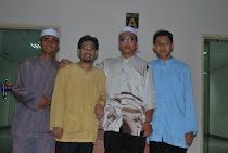 Bersama Ust Syed Hilmi the Geng
