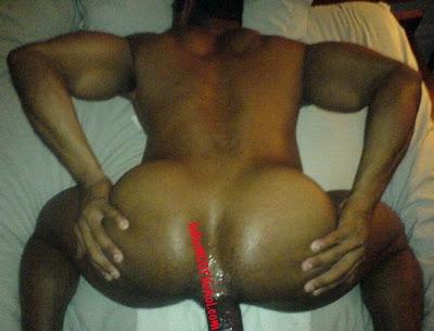 Big butt black men