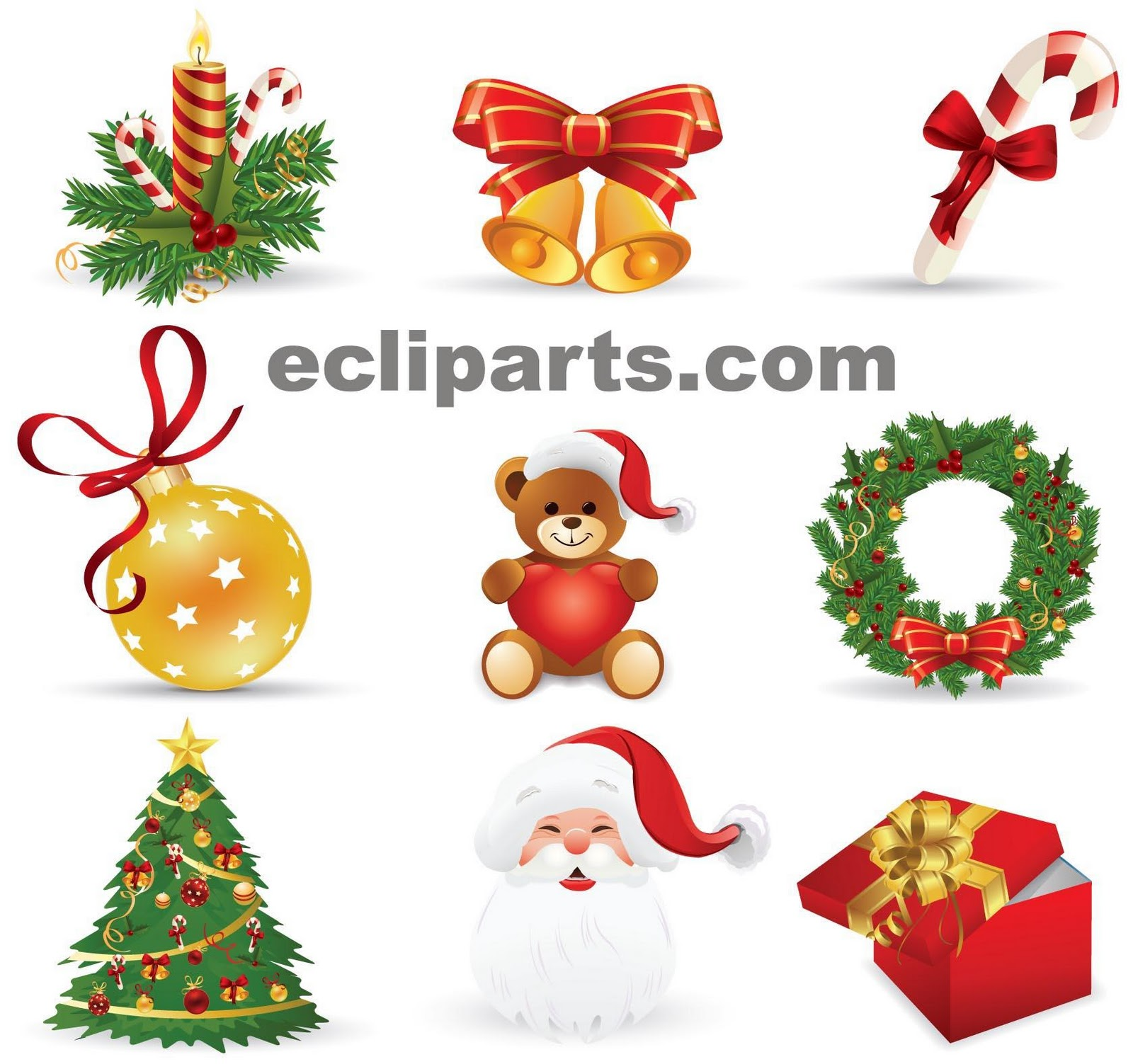 free clip arts:... Free Online Christmas Clipart