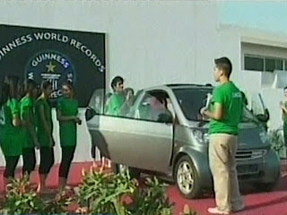 Pakistan guinness book of world records one car