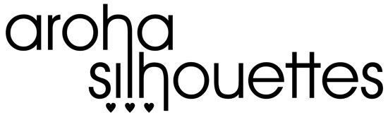 Aroha Sihouettes logo design