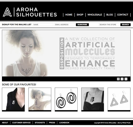 Aroha Silhouettes New Website White Pixels Magento