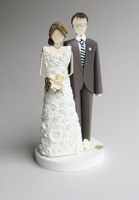 Laura1 On Etsy {Paper Cake Topper by Concarta}
