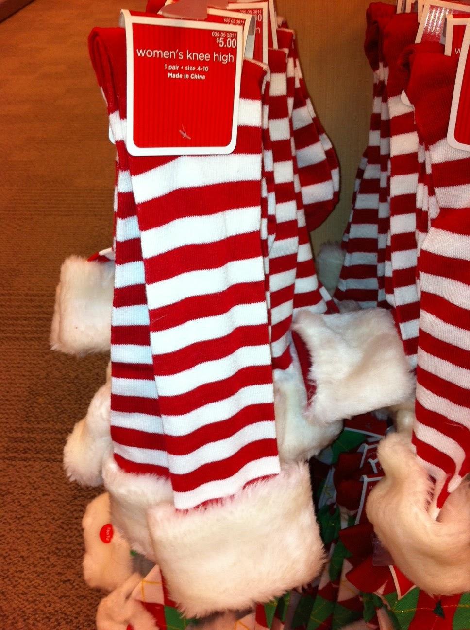 Glee Fashion – A Very Glee Christmas – The Cheerio's Socks ...