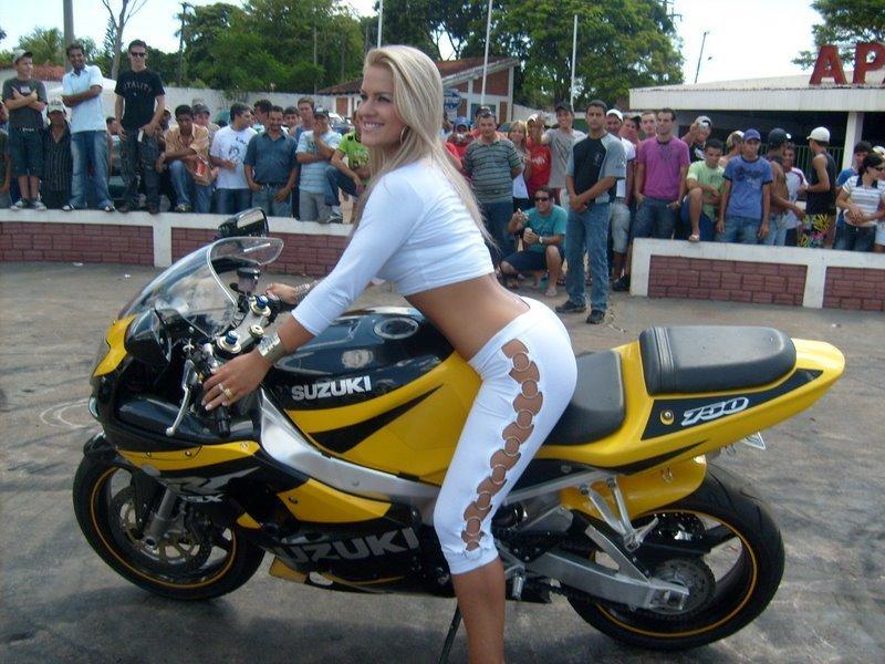 As Melhores E Mais Incr Veis Fotos De Motos Mulheres Voc Tamb M