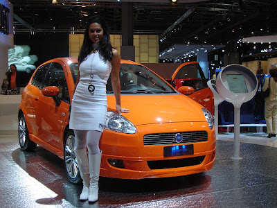 Fiat Car Show Girls