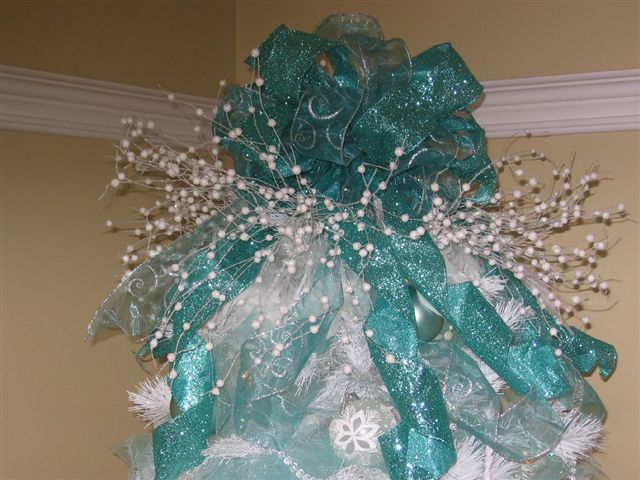 Melody Teal Tree Topper