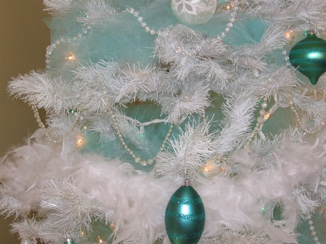 Melody Teal Tree Close Up