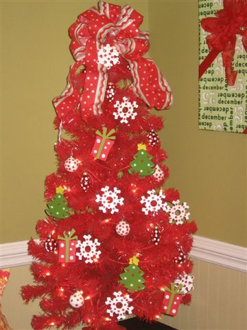 Melody Red Poka Dot Tree