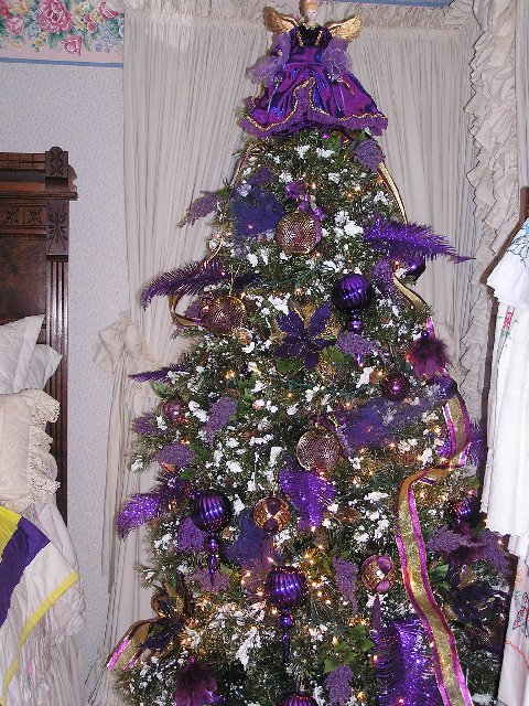 Kathy K Picture of Purple Tree