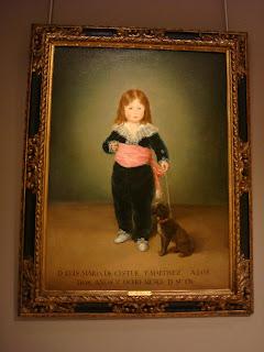 Ciel bleu de Castille: Pierre Bergé a fait don de ce Goya au Musée du Louvre.