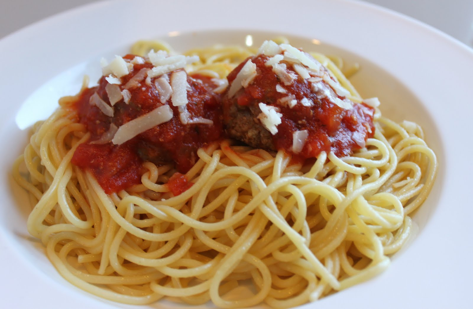 Spaghetti and Meatballs Cake | Created by Diane