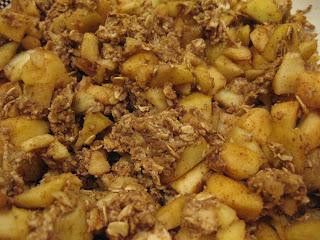 baked apple dessert, mini apple crisp