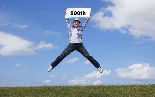 My 200th post