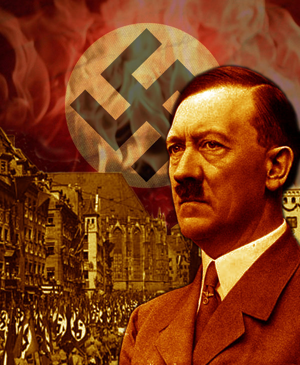 By the end of the second world war, Hitler's policies of territorial