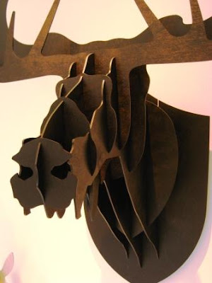 Pin cardboard moose head template pictures on pinterest - Cardboard moosehead ...