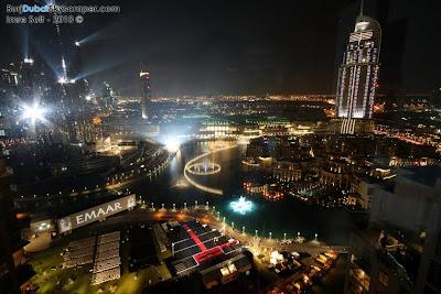 Dubai Fountain and Burj Khalifa