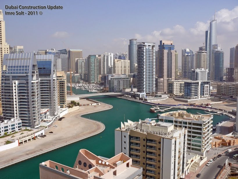 dubai tower 2011. Dubai Marina photos from the