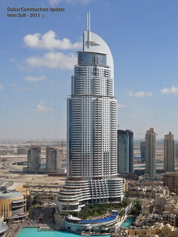 Dubai constructions update by imre solt the address for Best hotels in downtown dubai