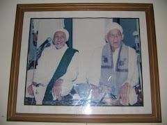 Sayyidul Habaib Al marhum Habib Anis Al Habsyi  & Kiyai Munir Hasbi