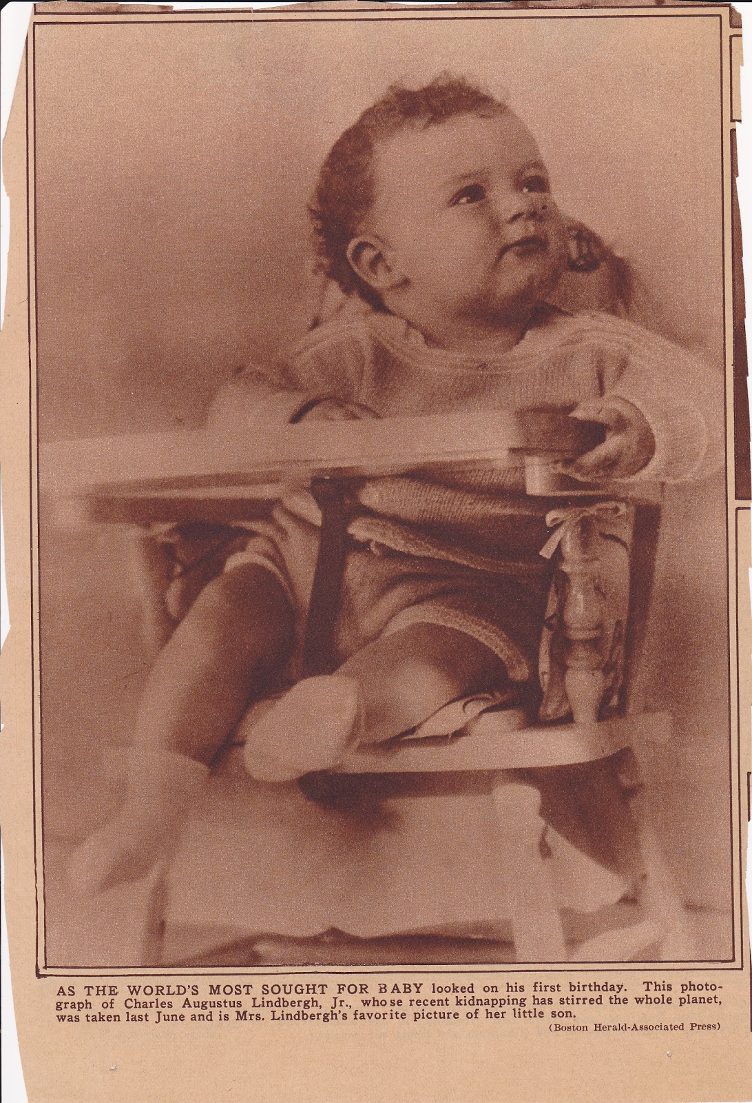 10 Little-Known Facts About The Lindbergh Kidnapping Lindbergh baby death photo