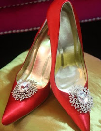 ARIWEDDINGCOUTURE RED SHOES