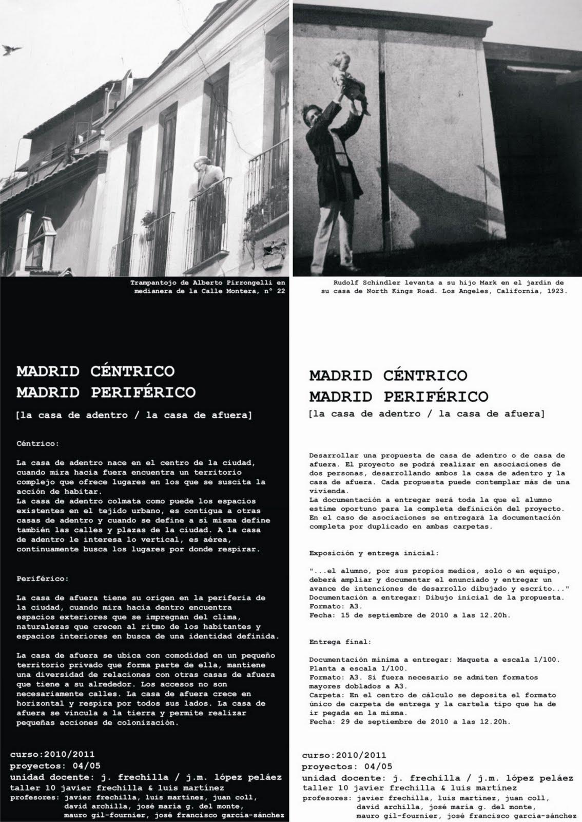 Jos francisco garcia sanchez arquitecto architect - Ets arquitectura madrid ...