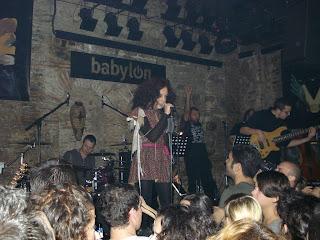 Yasemin Mori istanbul babylon konser