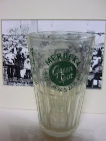 Glass Green Spot Merdeka 1957