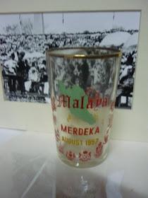 Glass Malaya Merdeka 1957
