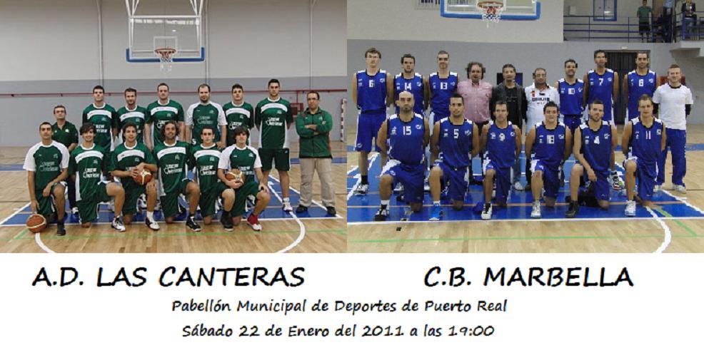 Vive el basket con eduardo burgos previa ad las canteras cb marbella - Las canteras puerto real ...