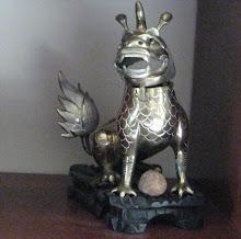 Temple Dog (Fu dog or Dragon)