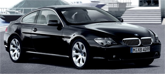 Bmw 645. Initially, this BMW