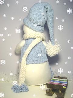 шарфик у меня длинный