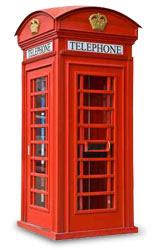 La pecora nera agosto 2010 for Cabina telefonica inglese arredamento