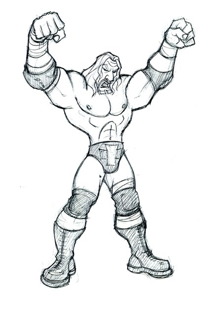 How To Draw Shawn Michaels And Triple H - 2018 images & pictures ...