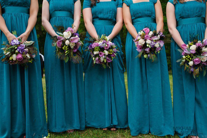 Teal Wedding Colors.. Flowers — The Knot