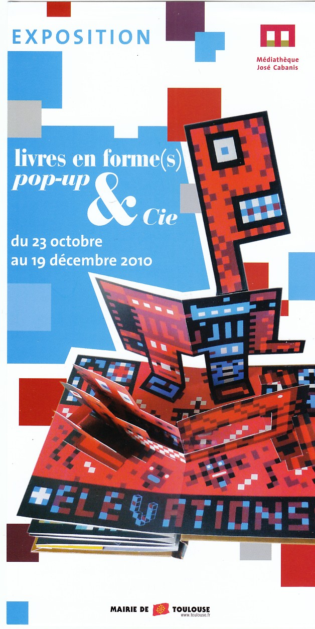 la boutique du livre anim pop up a toulouse. Black Bedroom Furniture Sets. Home Design Ideas