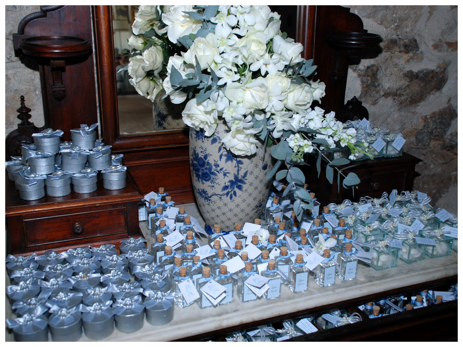 Homemade baptism favors ideas car interior design for Baby baptism decoration ideas
