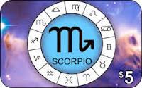 Scorpio phone card