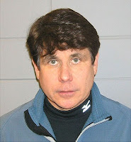 Mug shot of Rod Blagojevich