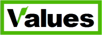 A logo of the Values Party, New Zealand