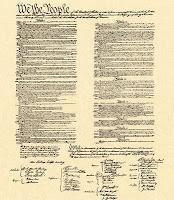 Constitution print