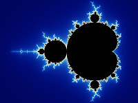 Mandelbrot set with continuously colored environment