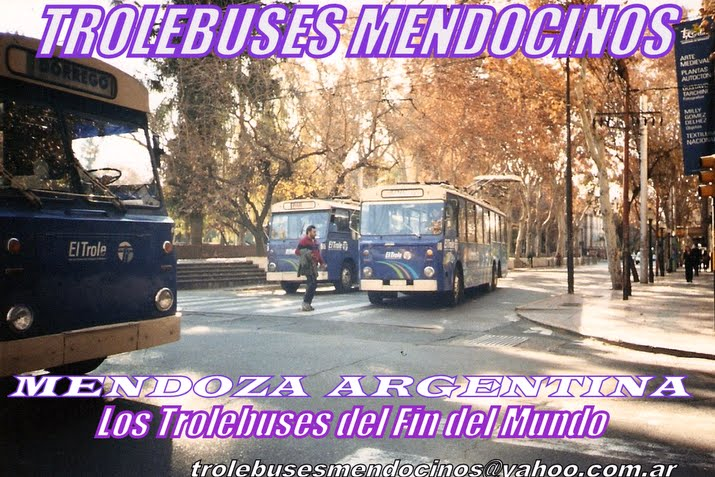 .TROLEBUSES DE MENDOZA